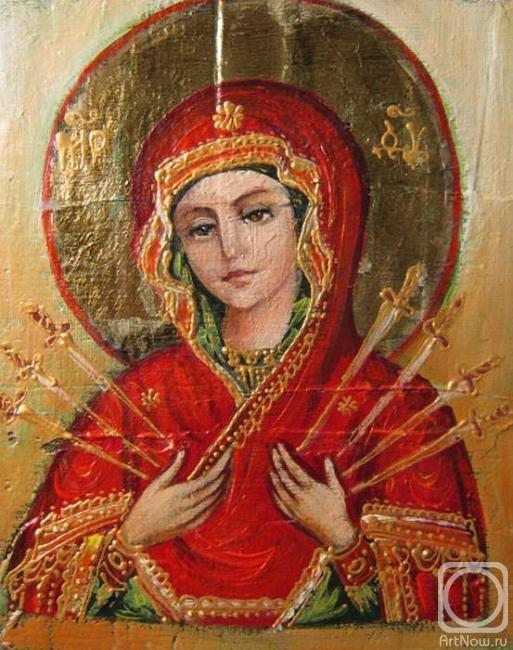 икона семистрельной божьей матери: