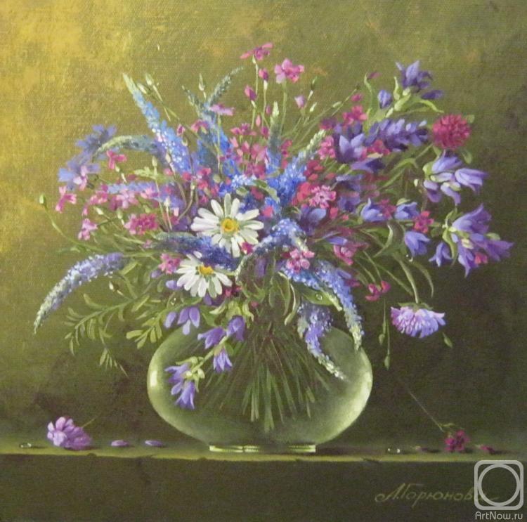 Картины художника полевые цветы 3