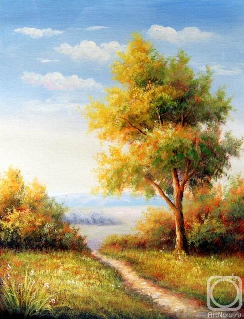 Картины художника пейзаж