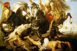 Охота на Гиппопотама. Копия П.П.Рубенса. Смородинов Руслан