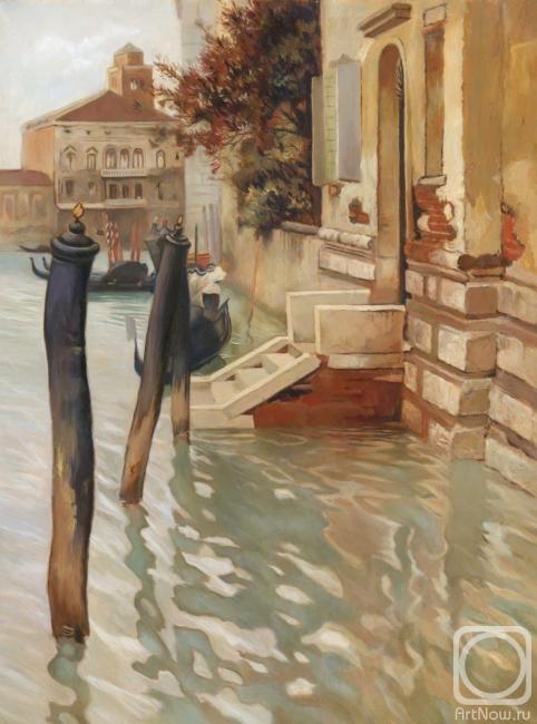 Рыбакова Ольга. На Гранд-канале Венеции
