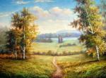 Августовский пейзаж. Минаев Сергей