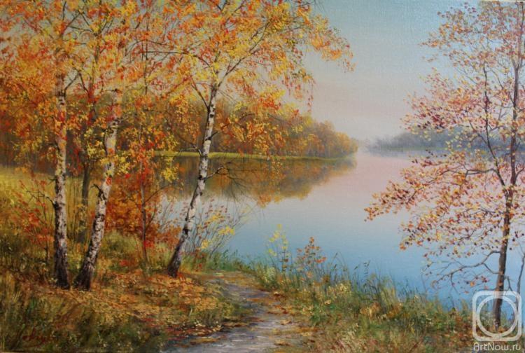 Картинки осенний пейзаж в живописи