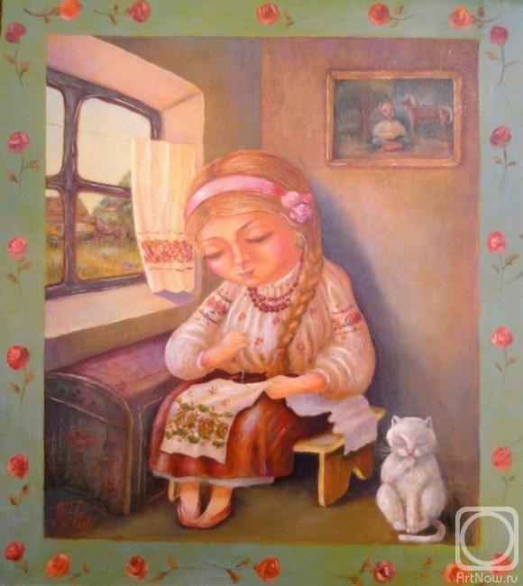 Филь Таня. вышивальница