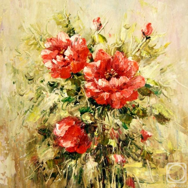 Dzhanilyatii Antonio. Poppies