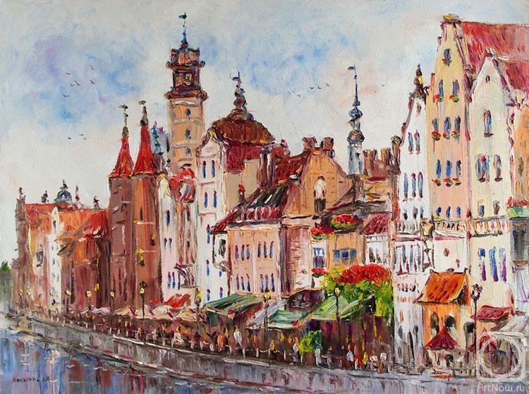 Картинки по запросу Гданьск в живописи