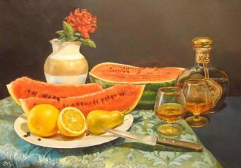 Evening still-life. Panasyuk Natalia
