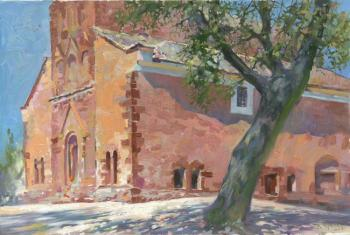 Chernov Denis. Temple of the 11th Century in Felsoors