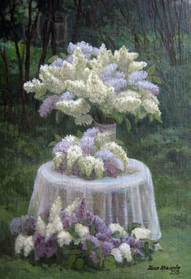 Lilac is never too much). Krasnova Nina
