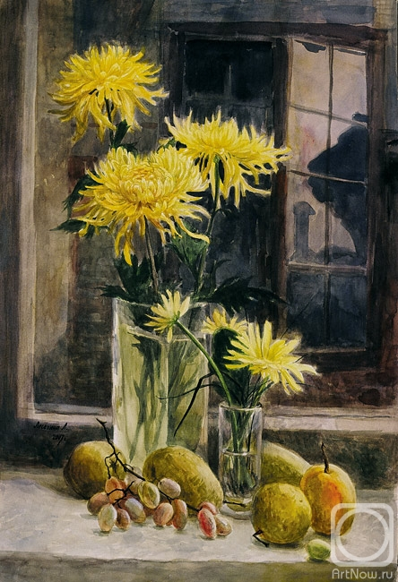 Лесохина любовь золотые хризантемы