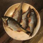 Картины на тему «Натюрморт с рыбой»