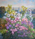 Цветы в саду. Панов Эдуард