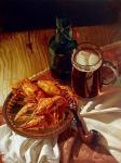 Mazur Nikolay. Beer and crawfish
