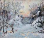 Жинкина Лариса. Зимний лес