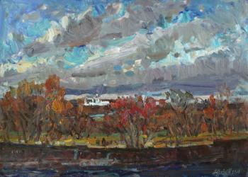 Zhukova Juliya. The sky, the wind and the river