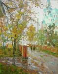 Александровский Александр. Валаам. Дождь