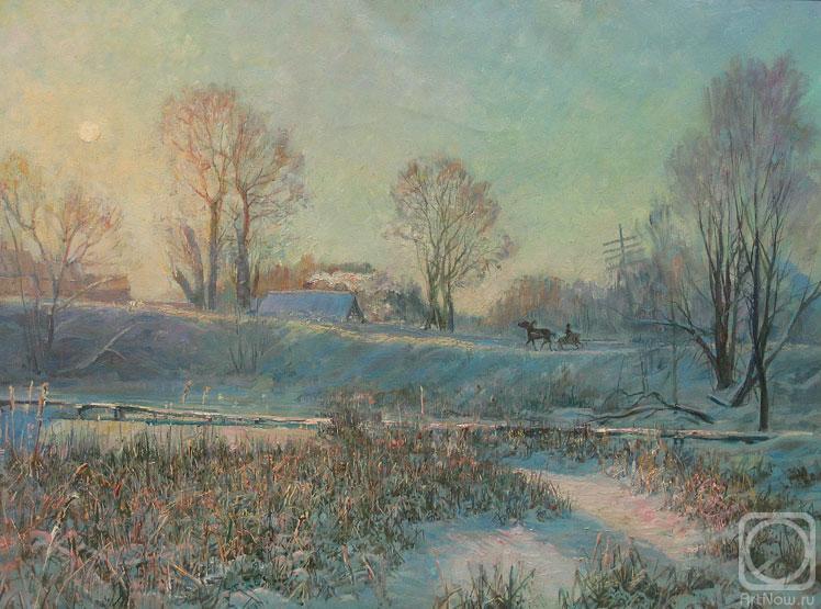 Лукьянов Виктор. Морозный вечер