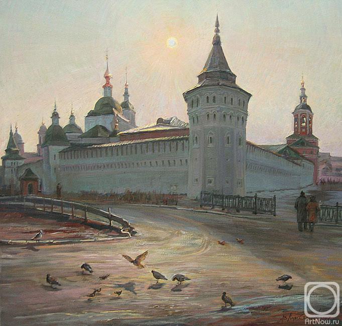 Лукьянов Виктор. Вербное воскресенье