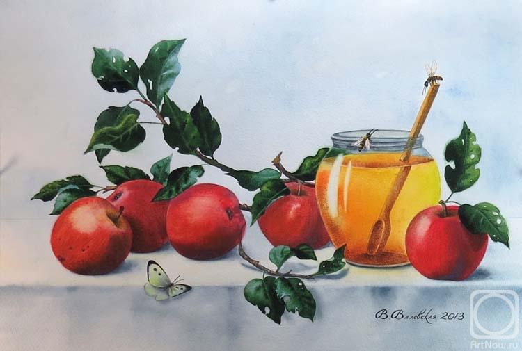 Валевская Валентина. Красные яблоки