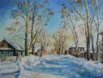 Kruglova Irina. Frosty day in Solikamsk