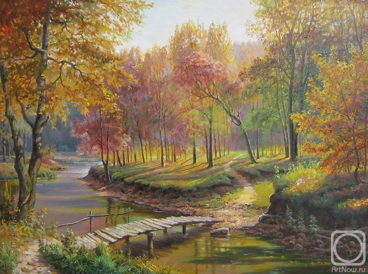 Потапов виталий осень в старом парке