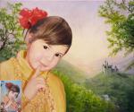 Белова Виктория. Фантазийный портрет по фото