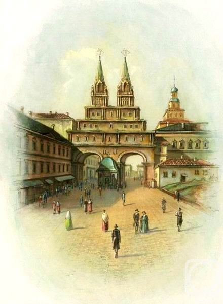 Panin Sergey. A view at the Voskresensky gates