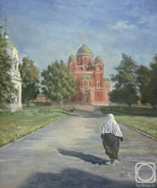 Fattakhov Marat. The road to church
