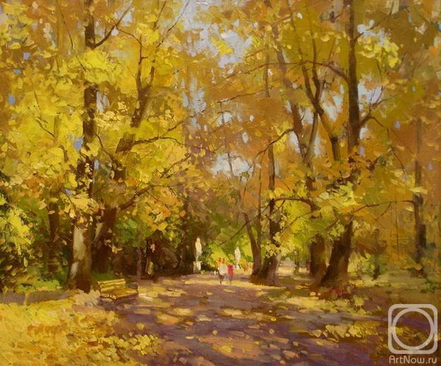Биляев Роман. в парке-осень