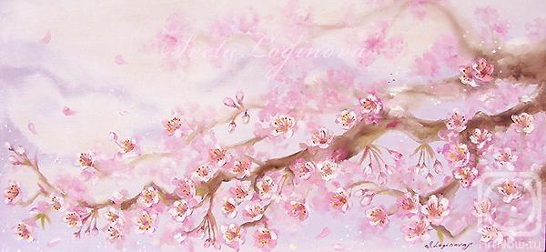 Логинова светлана цветущая ветка