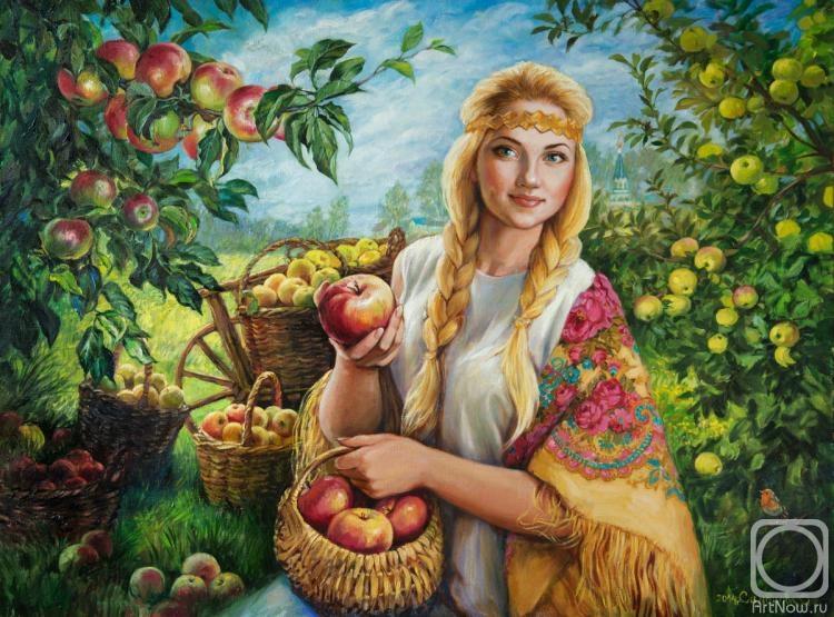 Симонова Ольга. Яблочный Спас