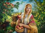 Simonova Olga. Apple Saviour