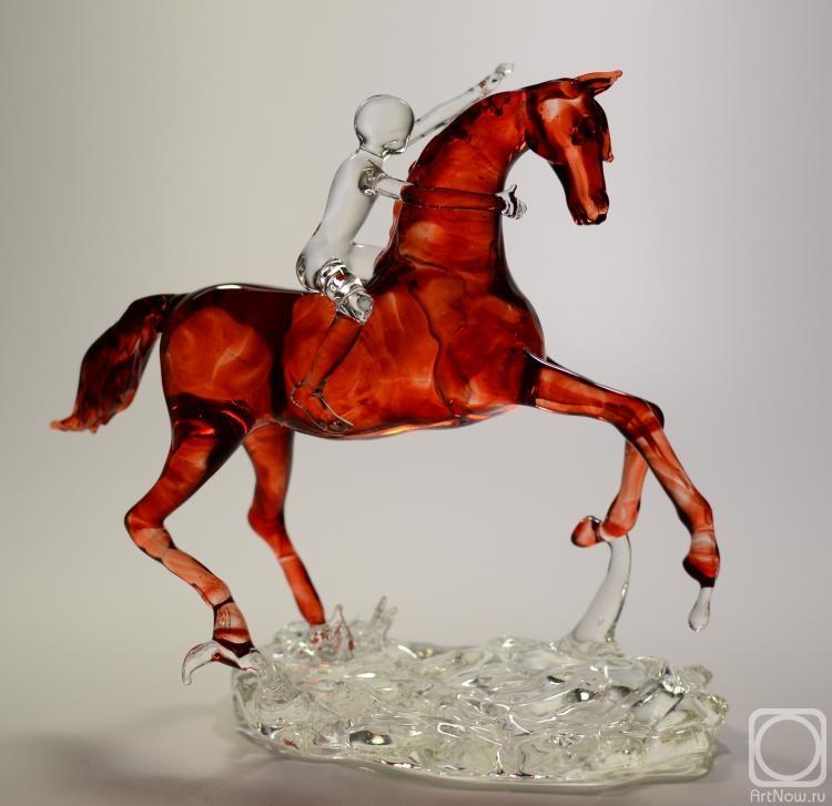 Купание красного коня вышивка