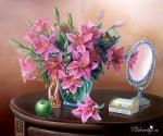 Картины на тему «Натюрморт с зеркалом»