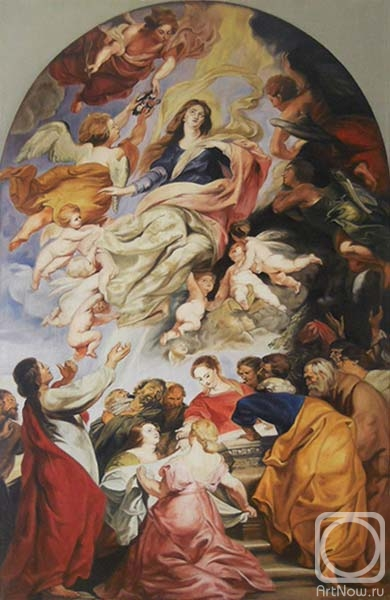 "Gaganov Alexander. ""Assumption of the Blessed Virgin Mary"""