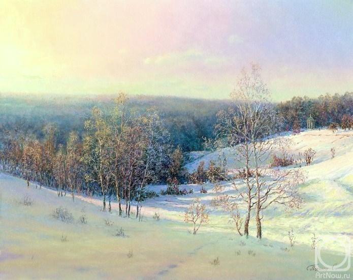 Modulations. Tsaritsyno. The artworks. Panin Sergey . Artists. Paintings, art gallery, russian art