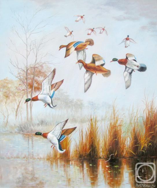 Картинки птицы улетают на юг осенью рисованные, бок