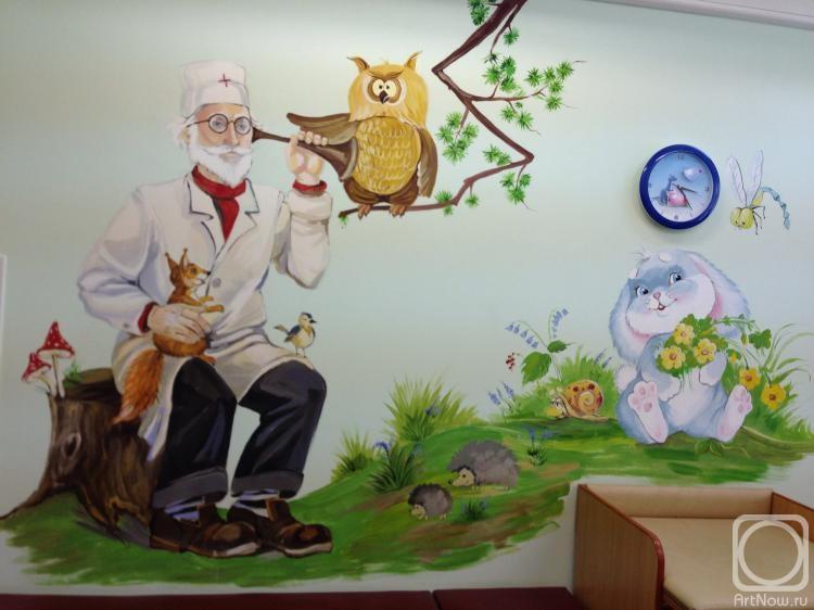 Картинки для детей доктор айболит в детском саду