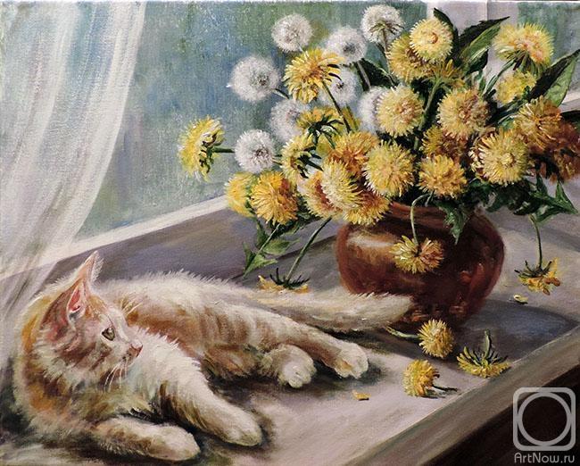 Воробьева Ольга. Одуванчиковый кот