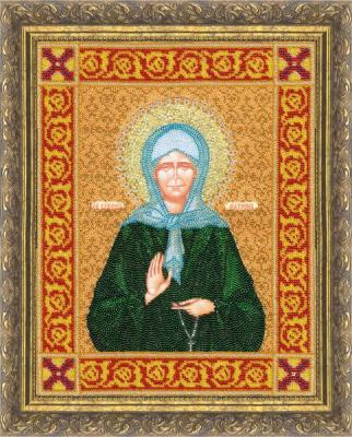 Esenova Indira. Icon of the Saint just blessed Matron Moscow