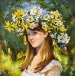 Лазарева Мария. Лето. Автопортрет