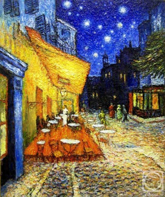 Ночная терраса кафе год введение бумажных ассигнаций