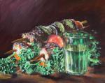 Картины на тему «Натюрморт с шашлыком»