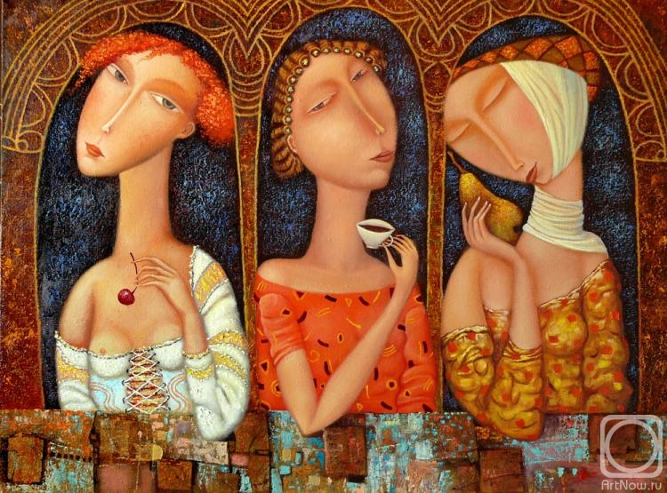три девицы под окном фото