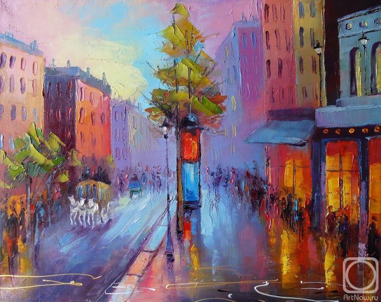 """Моисеева Лиана. После дождя (из серии """"Париж"""")"""