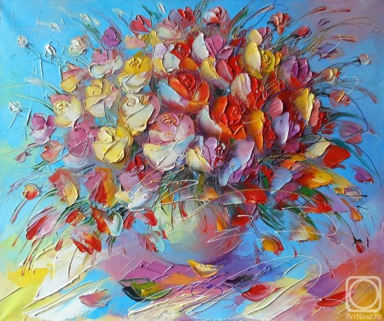 Моисеева Лиана. Розовый блюз