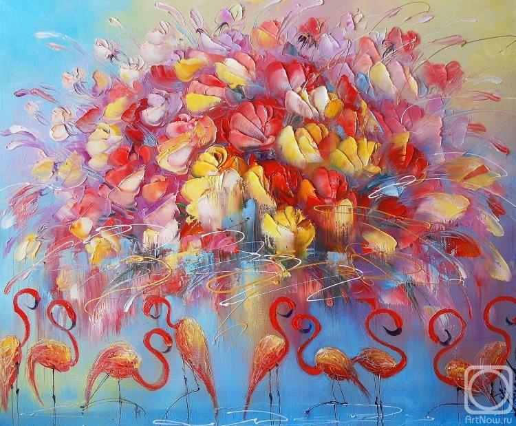 Моисеева Лиана. Танец красного фламинго