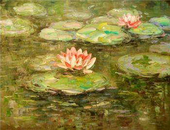 Water lily. Bruno Tina