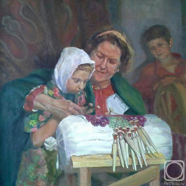 Fattakhov Marat. Her pupil