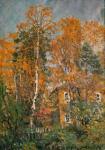Дачный дом. Осень